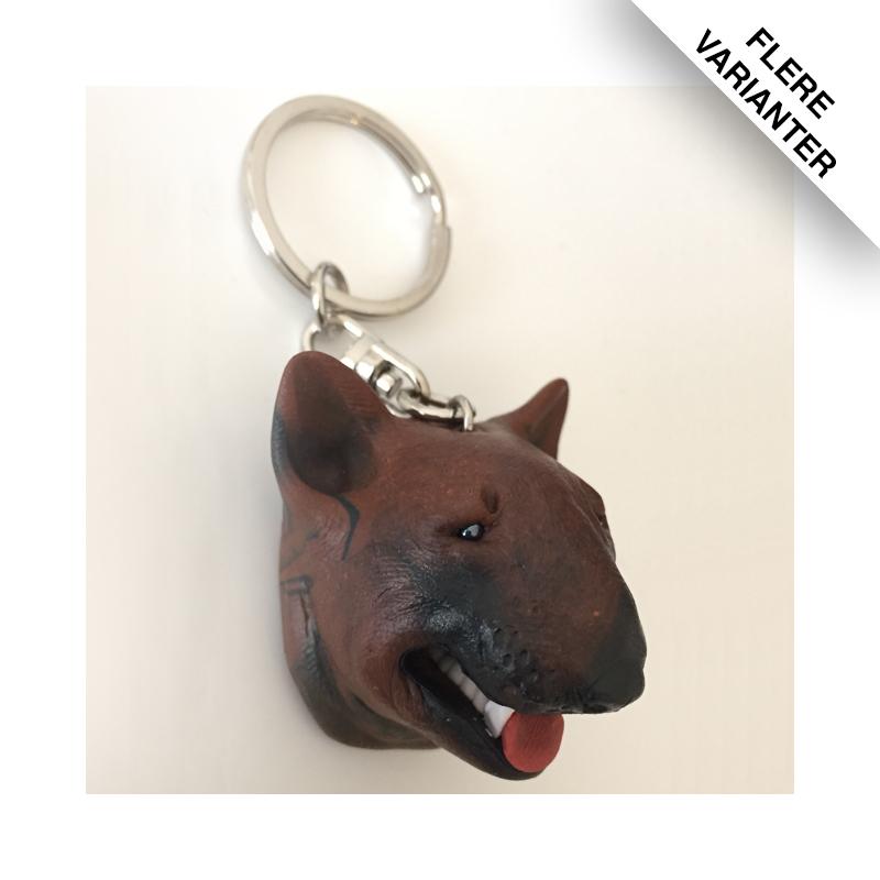 Bull Terrier nøgleringe