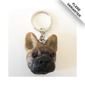 Fransk Bulldog nøgleringe