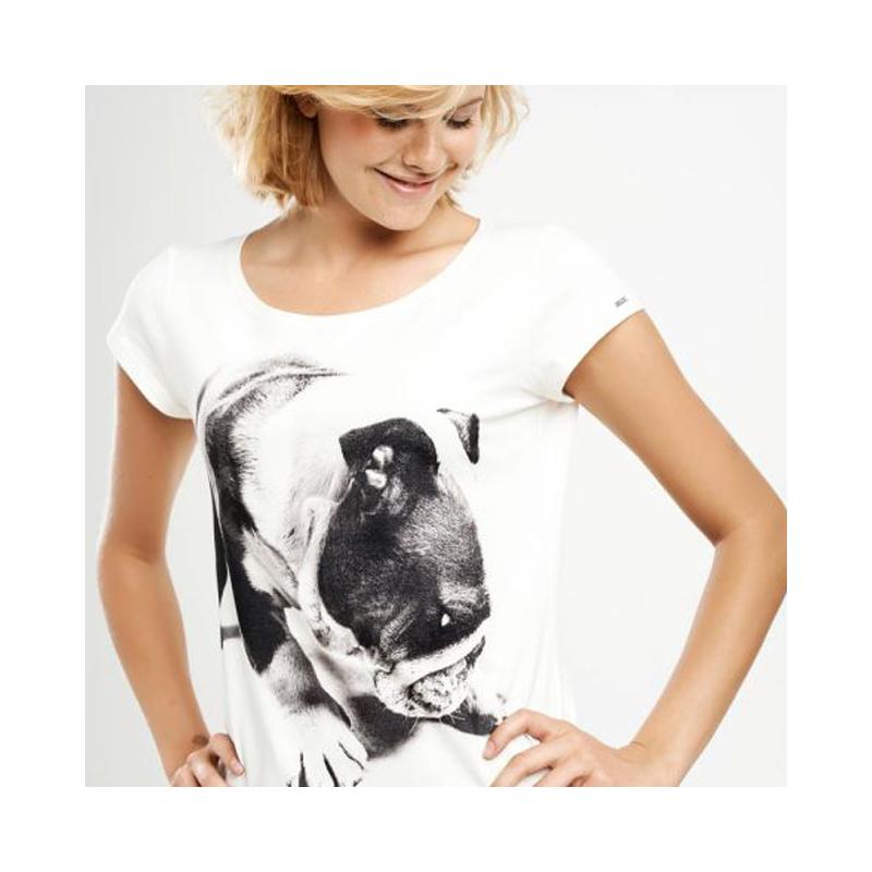 Engelsk bulldog figursyet T-shirt