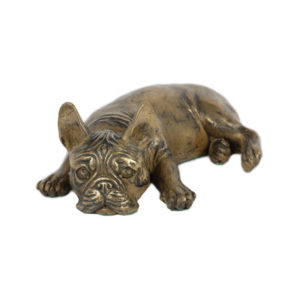 Fransk Bulldog i bronze