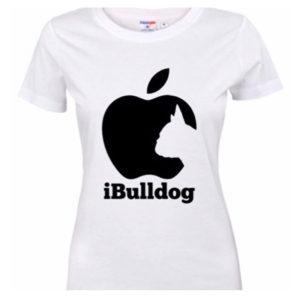 Fransk Bulldog t-shirt Ibulldog