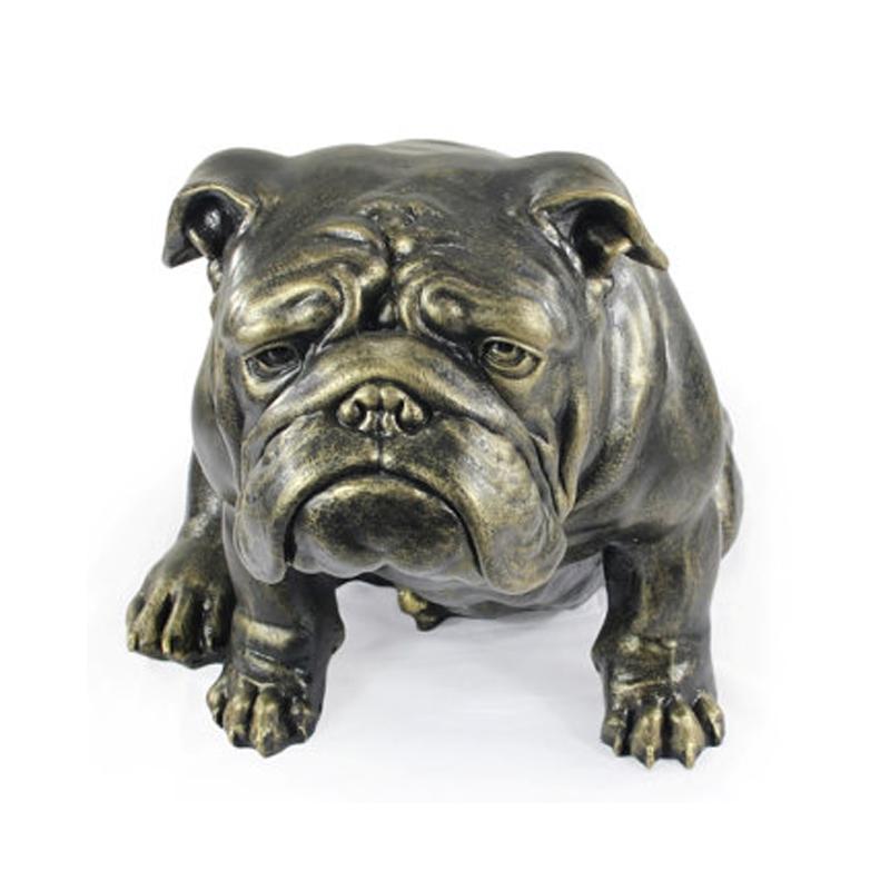 Engelsk Bulldog Figur Gigant