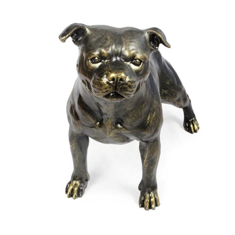 Staffordshire Bullterrier Figur Gigant