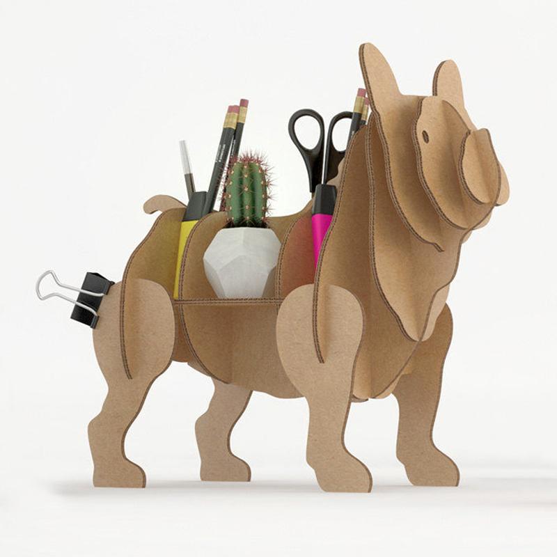 3D Puslespil Fransk Bulldog