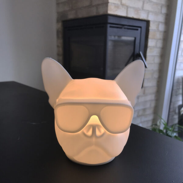 Fransk Bulldog natlampe